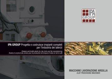Linea macchine - IPAGROUP SPA