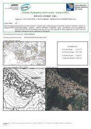 Scheda riepilogativa Unità Locale - Impianti IPPC - SIRA - Arpat