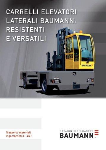 CARRELLI ELEVATORI LATERALI BAUMANN ... - Forklift