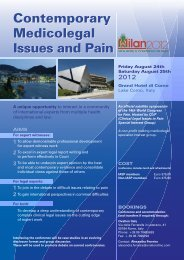 to view the program. - International Association for the Study of Pain