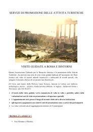VISITE GUIDATE A ROMA E DINTORNI - Centro Culturale Rinascita ...