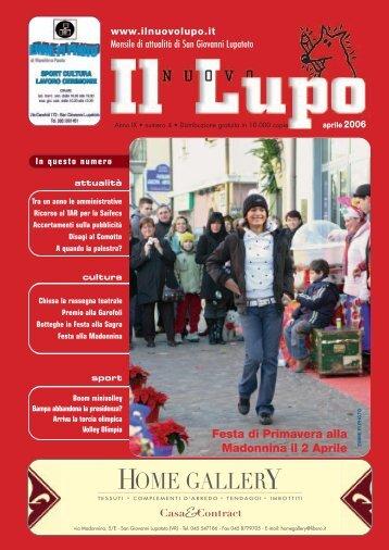 Lupo_maggio 2005 - Il Nuovo Lupo