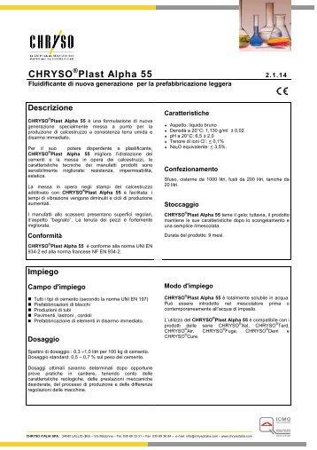 CHRYSO Plast Alpha 55 - st0609