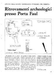 Ritrovamenti archeologici presso Porta Faul - Biblioteca consorziale ...