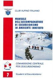 Quaderno n° 7 - CAI Sottosezione U.E.T C.A.I Torino