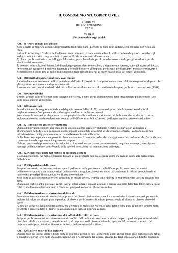 legge n 220 2012 condominio e codice civile con testo