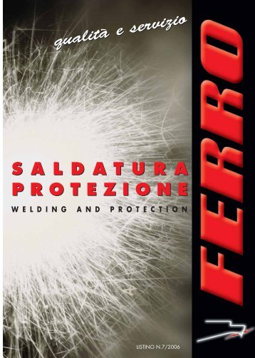 saldatura protezione - Antinfortunistica Gallo
