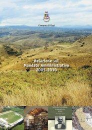 relazione 2005-2010.indd - Comune di Ossi