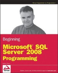 Beginning Microsoft SQL Server 2008 ... - S3 Tech Training