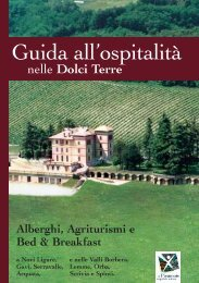 Guida all'ospitalità nelle Dolci Terre - Comune di Novi Ligure (AL ...