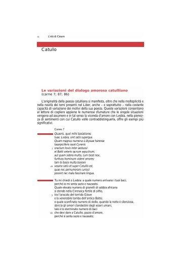 Catullo - Pianeta Scuola Gallery