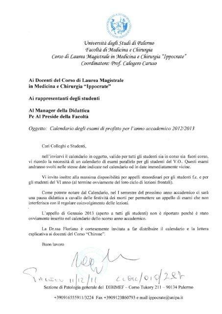 Calendario Esami Unipa.117 Calendario Degli Esami Ippocrate Universita Di Palermo