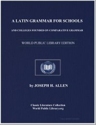 a latin grammar for schools and colleges founded on comparative ...
