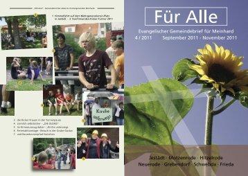 Gottesdienste im Kirchspiel Grebendorf ... - Leo-werbung.com