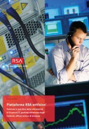 Piattaforma RSA enVision