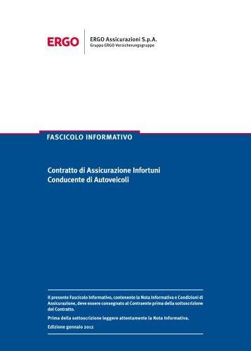 Scarica il Fascicolo Informativo - ConTe.it