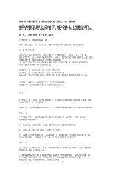 Regolamento Convitti Nazionali - Convitto Nazionale