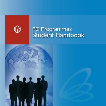 PGP Handbook - Institute of Public Enterprise