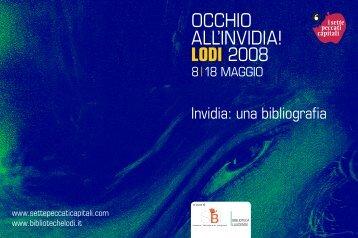 OCCHIO ALL'INVIDIA!