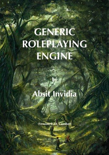 GENERIC ROLEPLAYING ENGINE - Foolz!