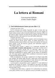 02) Tutti hanno peccato (Rm 1-2) - Symbolon.net