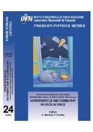 Cosmic Rays - LNF - Infn
