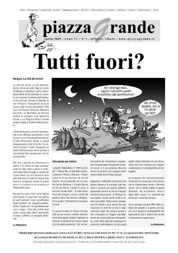 produrre questo giornale costa 0,52 euro • quello ... - Piazza Grande