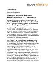 Pressemitteilung herunterladen - move:elevator - Full-Service ...