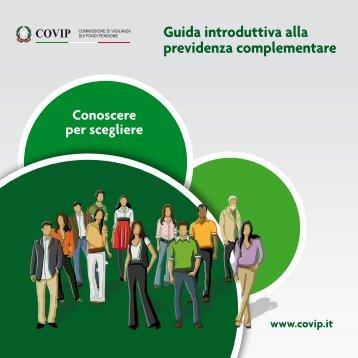 Guida introduttiva alla previdenza complementare - Covip