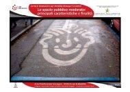 Moderazione spazio pubblico - arch Donde'.pdf - Comune di Reggio ...