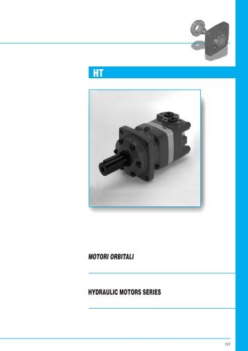 MOTORI ORBITALI HYDRAULIC MOTORS SERIES