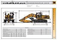 escavatore cingolato jcb | js 235 hd e sc av at orec in gol at o jc b js ...