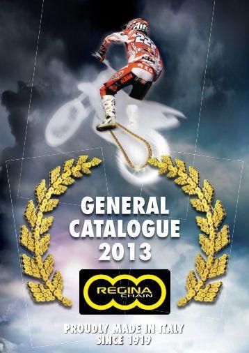 GENERAL CATALOGUE 2013 - Regina