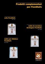 Scarica PDF con maggiori informazioni tecniche - Cave Riunite ...