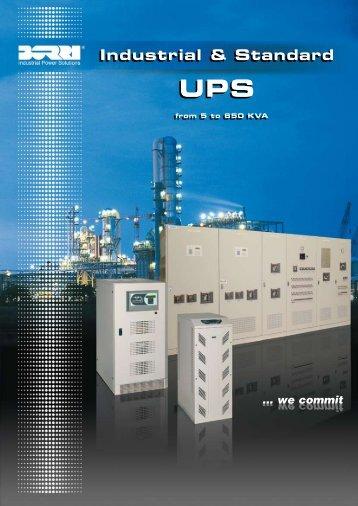 Industrial & standard ups - Borri