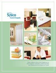 Faites confiance à Sysco Guest Supply pour un choix inégalé de ...