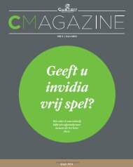 Geeft u invidia vrij spel? - of /media - Custom Management
