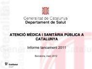 Presentació Balanç activitat 2011 - Premsa