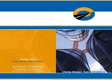 Scarica brochure - Impresa Foti Srl