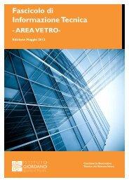 Fascicolo di Informazione Tecnica - AREA VETRO - Istituto Giordano