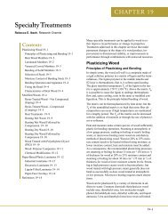 Wood Handbook, Chapter 19 - Forest Products Laboratory