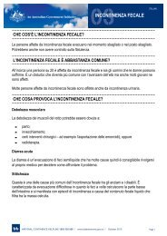 03INCONTINENZA FECALE - Bladder and Bowel Website