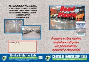 Impermeabilizzante Protettivo ROAD PLASTIC - Chemical ...