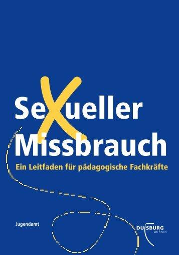 """Leitfaden """"sexueller Missbrauch"""" - Wildwasser-Duisburg"""