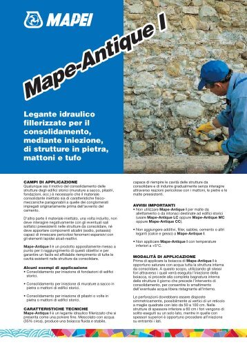 MAPE-ANTIQUE I - Crocispa.it