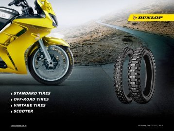 Download catalog of standard tires - Dunlop