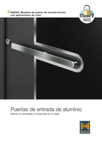 Puertas de entrada de aluminio - Hormann.es