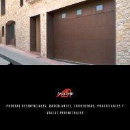 Catálogo de Puertas Residenciales - Angel Mir