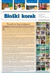 glasilo občine Bloke junij 2003 letnik 4 | številka 3 cena: brezplačno ...