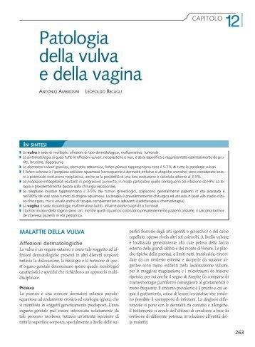 Patologia della vulva e della vagina - docvadis